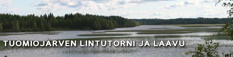 Tuomiojärvi, lintutorni ja laavu
